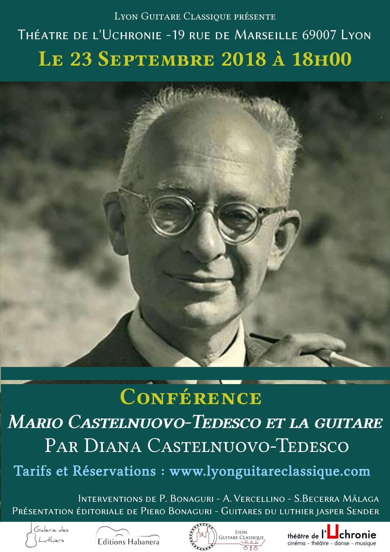 Affiche conference castelnuovo tedesco