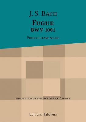 Bach J.S - Fugue BWV 1001 - Erick Laumet